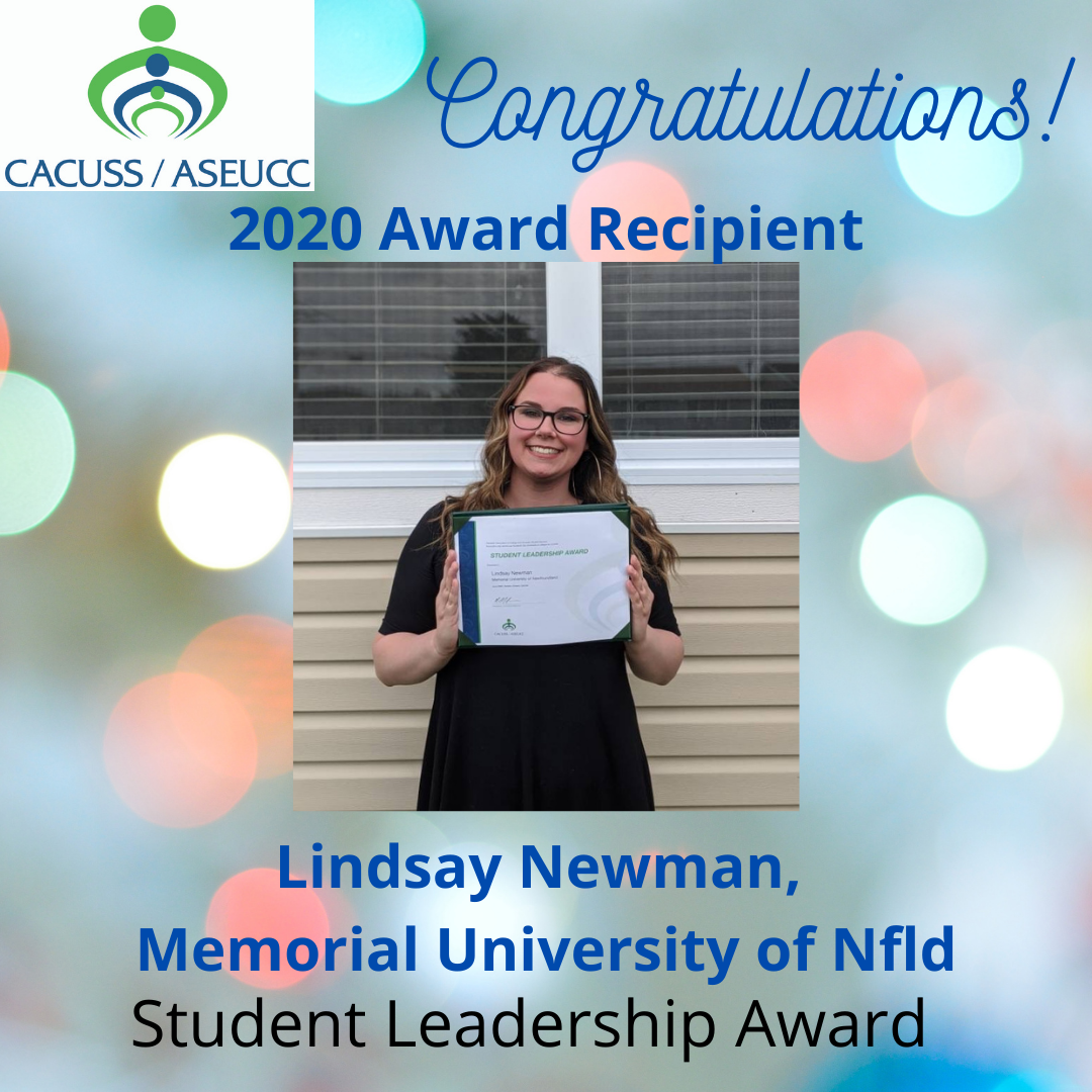 Lindsay Newman, Memorial University of Newfoundland